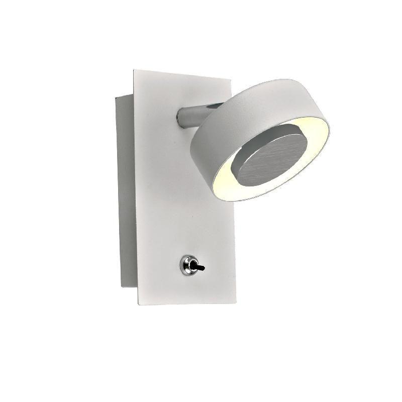 EGIO-APPLIQUE MURALE LED ORIENTABLE H14,5CM BLANC INSPIRE