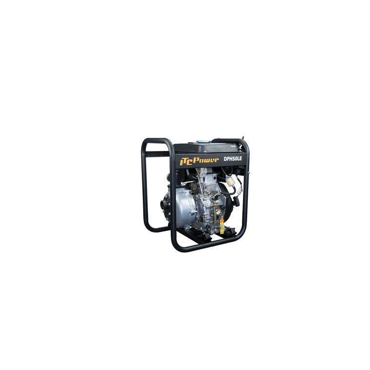 MOTOPOMPE DIESEL HAUTE PRESSION 296 CC DPH50LE - ITC POWER