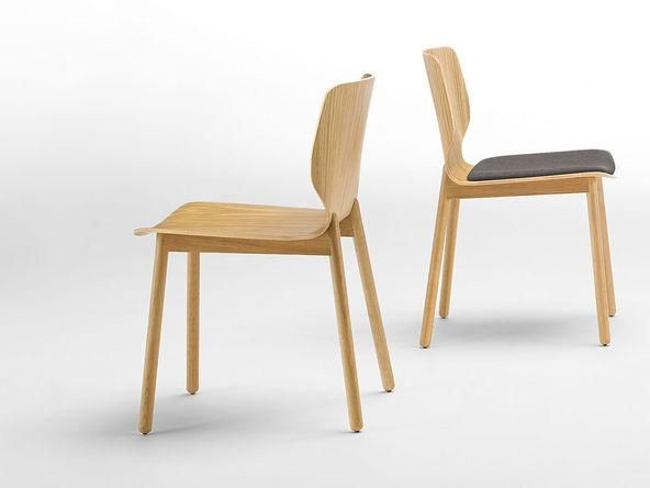 LOT DE 2 CHAISES NIM WOOD AVEC PLACET D'ASSISE