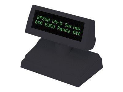 EPSON DM-D110BA - AFFICHAGE CLIENT - 690 CD/M² - RS-232 - GRIS FONCÉ - RS-232 SÉRIE