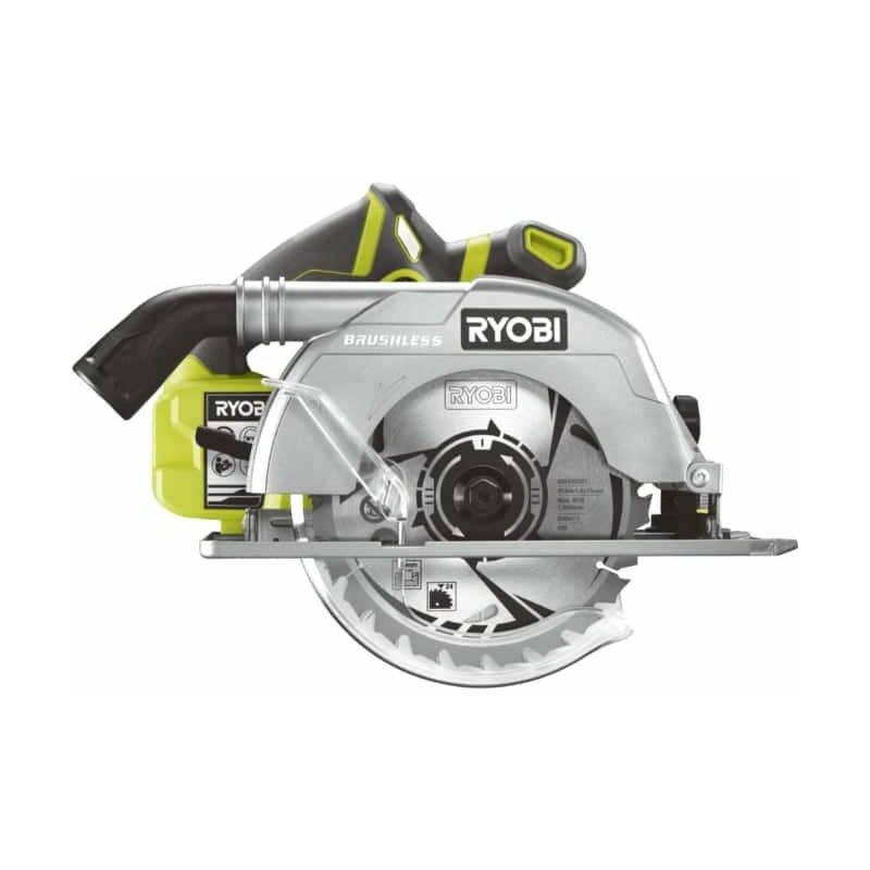SCIE CIRCULAIRE BRUSHLESS RYOBI 18V ONEPLUS 60MM - SANS BATTERIE NI CHARGEUR R18CS7-0