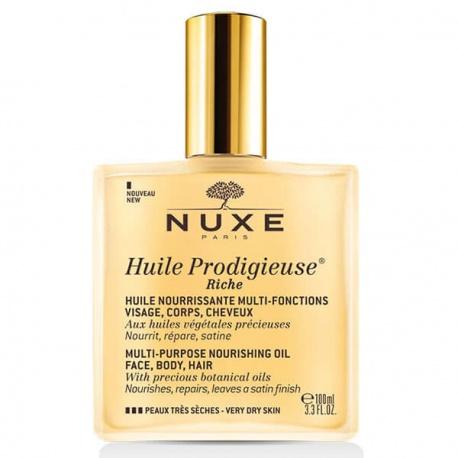 NUXE - HUILE PRODIGIEUSE RICHE - 100ML