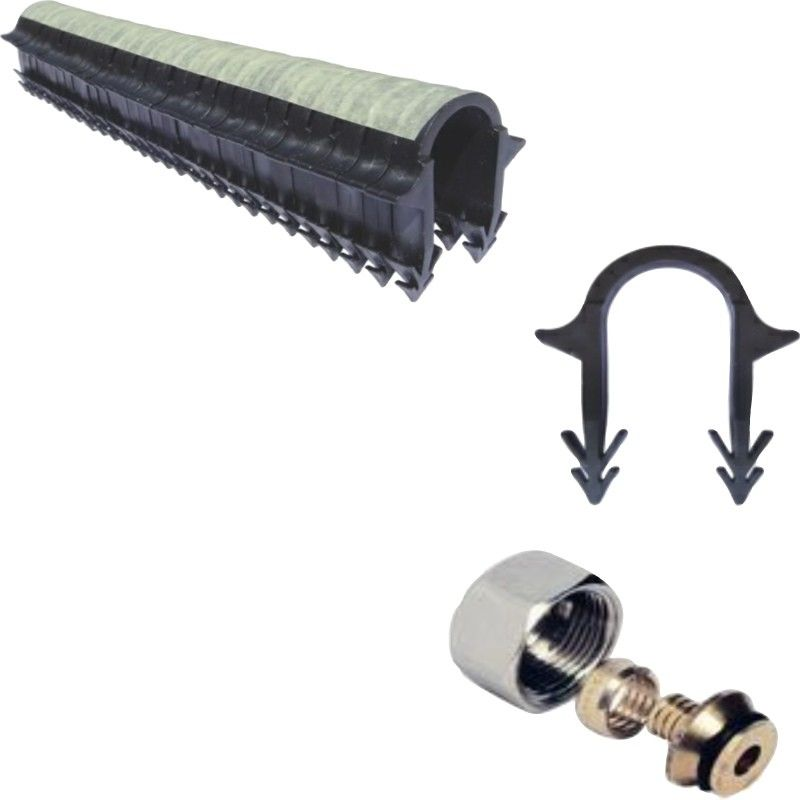 KIT PLANCHER HYDRO 30 À 120 M² COLLECTEUR INOX, TUBE MULTICOUCHE | KIT 90 M² - PLANCHER CHAUFFANT SHOP BY IMPACT ENR