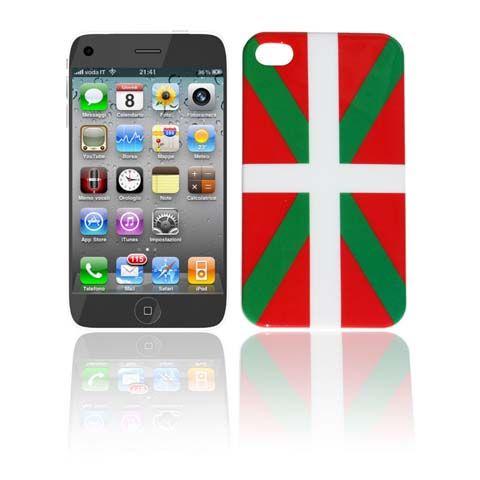 COQUE IPHONE 4 / 4S - DRAPEAU PAYS BASQUE [2€-9€]