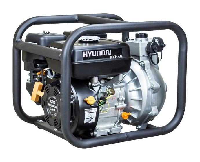 HYUNDAI - MOTOPOMPE THERMIQUE 335 L/MIN 210 CC À ESSENCE 3.6 LITRES - HYH40