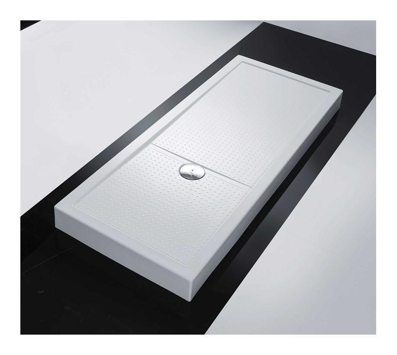RECEVEUR RECTANGULAIRE H 12,5 CM - NOVELLINI OLYMPIC PLUS   170 X 90 - BLANC - NOVELLINI BOX DOCCIA