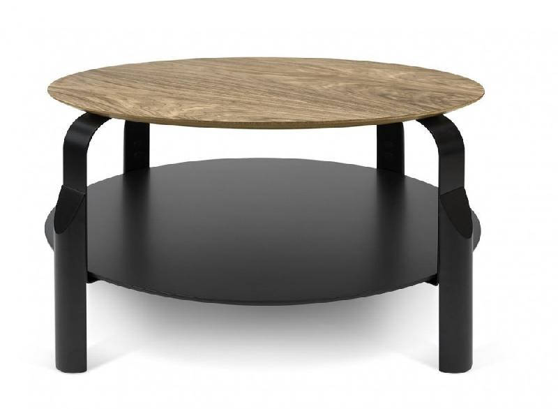 Temahome Table Basse Relevable Scale 8080 Cm Noyer Comparer