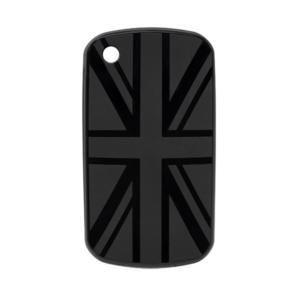 COQUE BLACKBERRY DRAPEAU UK NOIR - ACCESSOIRE TÉLÉPHONIE MOBILE