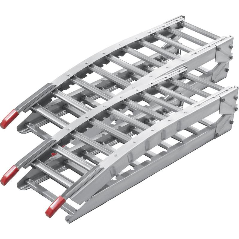Rampe Quad Rail Atv D'accès 2x Acier Moto Pliable De Chargement wPOkTiuXZ