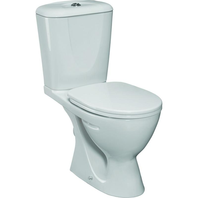 WC A POSER COMBI EN CERAMIQUE (W903401) - IDEAL STANDARD