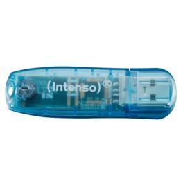 CLÉ USB2.0 INTENSO RAINBOW 4GO