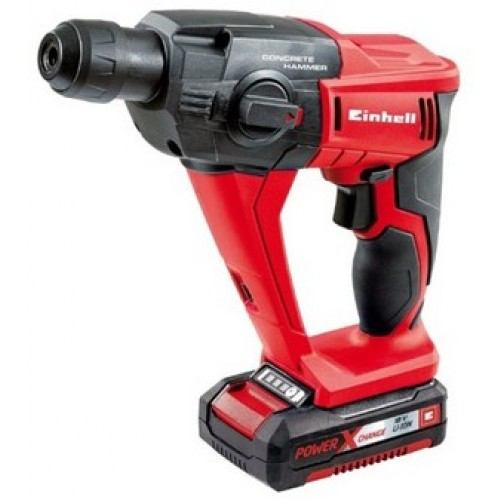 MARTEAU-PERFORATEUR SANS FIL - 18 VOLTS - KIT - TE-HD 18 LI EINHELL