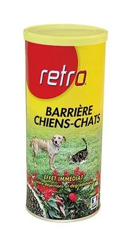 RETRO - RÉPULSIF POUR CHIEN ET CHAT - 800 G