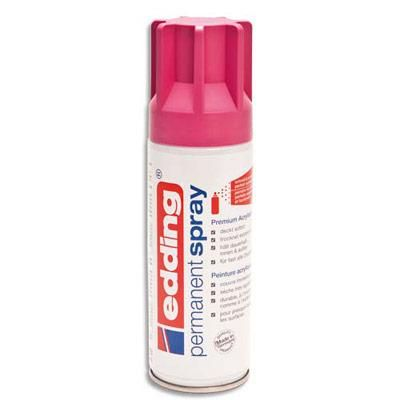 SPRAY DE PEINTURE PERMANENTE EDDING - 200ML - MAGENTA