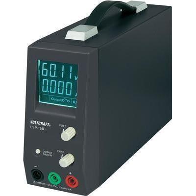 ALIMENTATION DE LABORATOIRE RÉGLABLE 1 - 60 V/DC / 0.15 - 1.6 A 100 W VOLTCRAFT LSP-1601