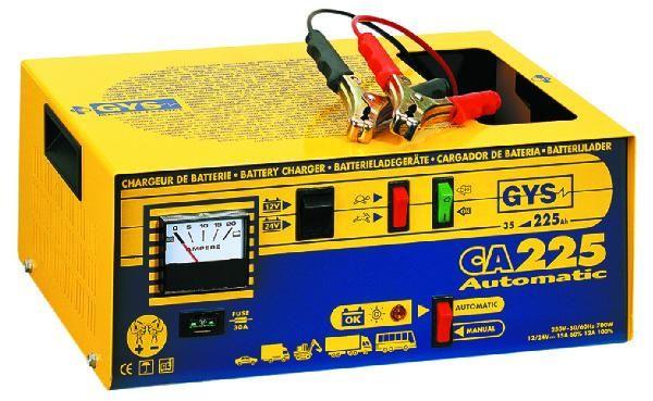 Jeune CHARGEUR BATTERIE CA225 GYS 24-225AH AUTOMATIQUE 12/24V Comparer ZA-75