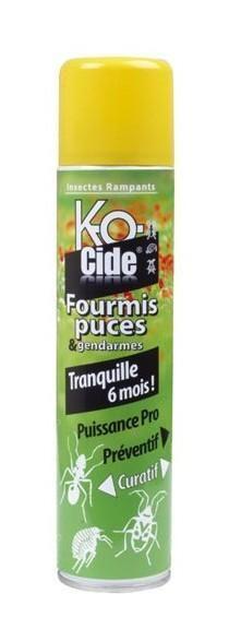 KOCIDE - INSECTICIDE LAQUE FOURMIS ET PUCES - 300 ML