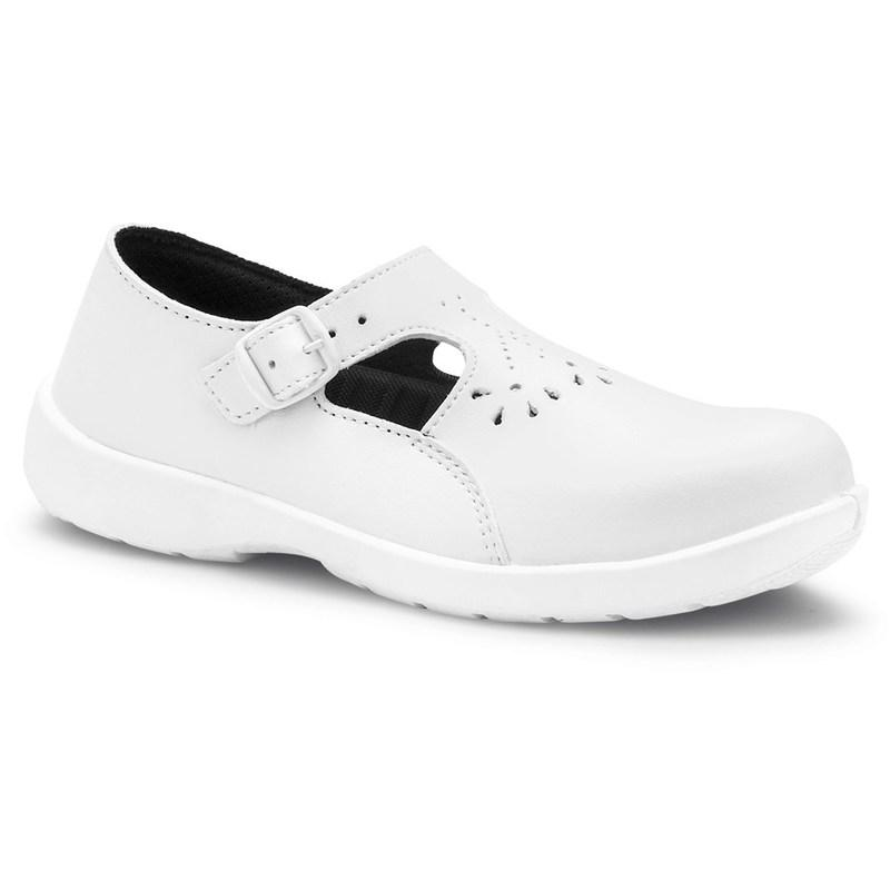 S Eva S24 Femme S1p Indoor Taille 42 Chaussure Basse 24 Blanc nv0wmN8