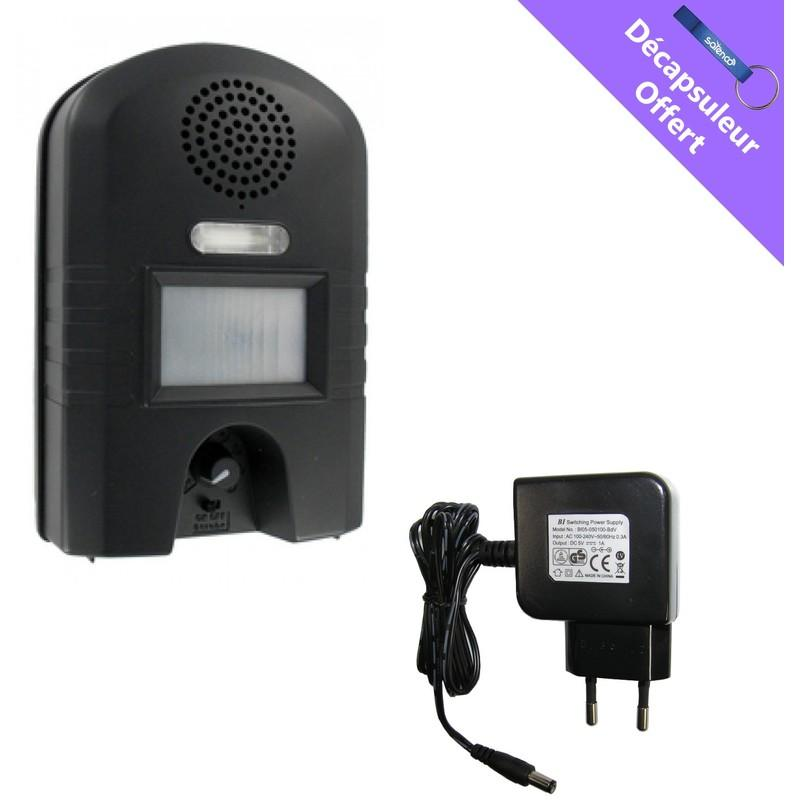 PACK GARDEN PROTECTOR 2 WK0052 + CHARGEUR 220V - WEITECH