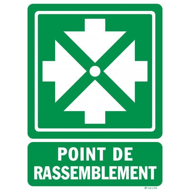 PANNEAU POINT RASSEMBLEMENT - CORDIA INCENDIE