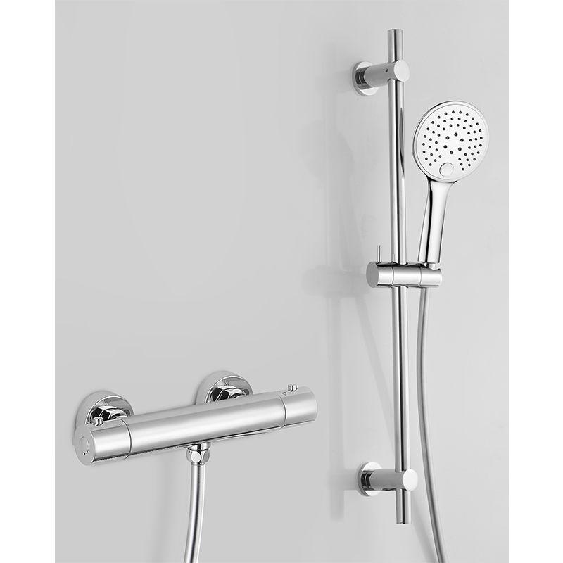 PACK DOUCHE MITIGEUR THERMOSTATIQUE GUSTO, AVEC TECHNOLOGIE KEEPCOOL® - STANO