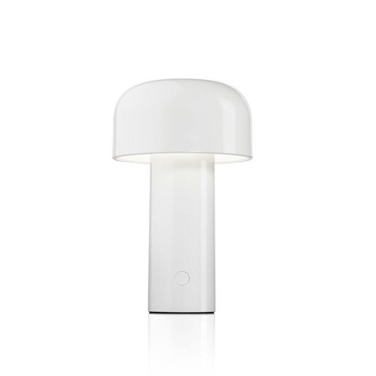 BELLHOP-LAMPE BALADEUSE LED RECHARGEABLE H21CM BLANC FLOS - DESIGNÉ PAR EDWARD BARBER & JAY OGERBY