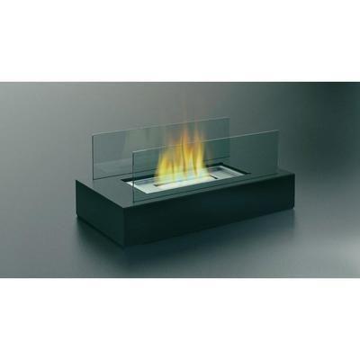 CHEMINÉE DE TABLE DESIGN VERRE ANTHRACITE DF-6500 FIREFRIEND