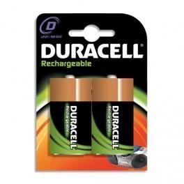DURACELL BLISTER DE 2 ACCU RECHARGEABLES D/HR20 1,2VOLT +CCR