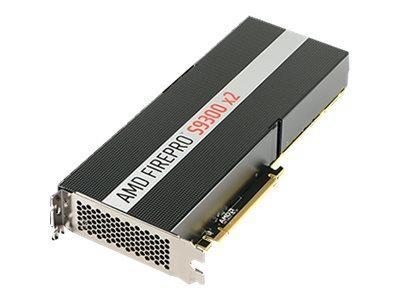 AMD FIREPRO S9300 X2 - CARTE GRAPHIQUE - 2 GPUS - FIREPRO S9300 - 8 GO HBM - PCIE 3.0 X16 - SAN VENTILATEUR