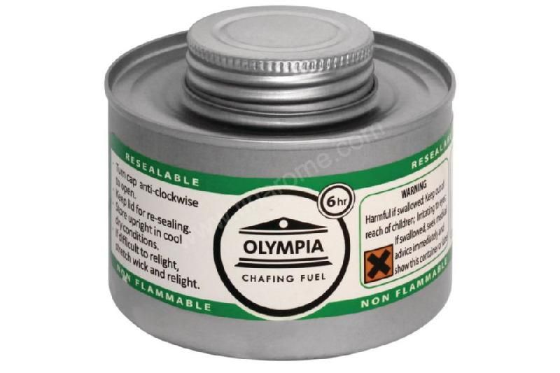 COMBUSTIBLE LIQUIDE OLYMPIA POUR CHAFING DISH 6H - LOT DE 12