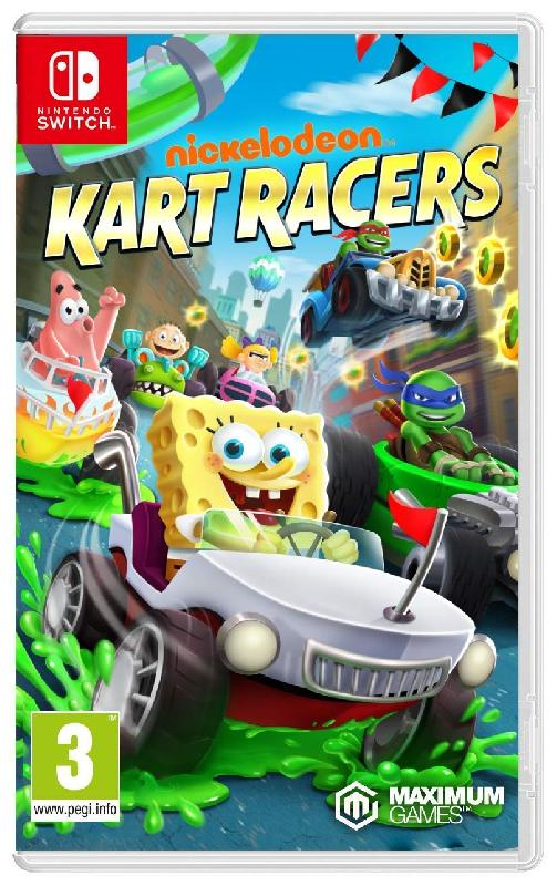 NICKELODEON KART RACERS POUR NINTENDO SWITCH