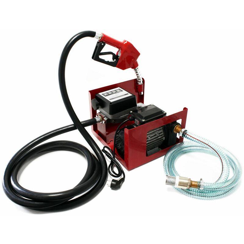 POMPE À FUEL GASOIL BIO AUTOASPIRANTE 230V/750W 80L/MIN PISTOLET AUTO. - WILTEC
