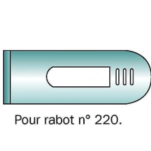 FER POUR RABOTS MÉTALLIQUES NUMÉRO 220 STANLEY STANLEY