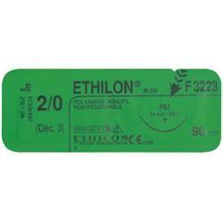 ETHILON NON RÉSORBABLE - SUT. CHIR. FILAPEAU DEC2  AIG 48 POINTE