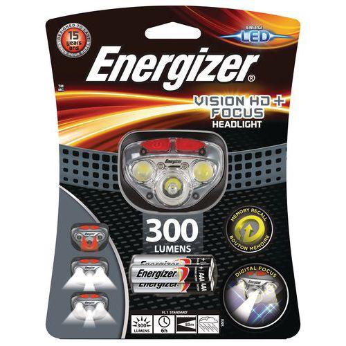 LAMPE FRONTALE 5 LED - HD+ FOCUS- 300 LM - ENERGIZER