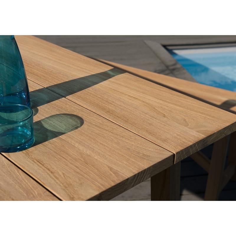 SALON DE JARDIN N°142 COMPRENANT 1 TABLE SOHO 180*90CM COULEUR ...