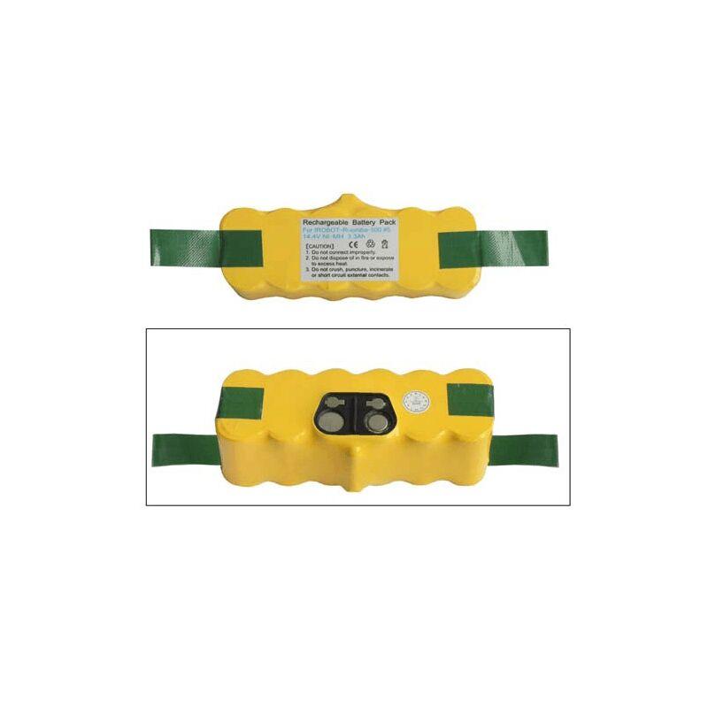 ACCU 14.4V-3300MAH NI-MH IROBOT SERIE5 5340944 POUR PIECES ASPIRATEUR NETTOYEUR PETIT ELECTROMENAGER