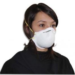 MASQUE DE PROTECTION GRIPPE H1N1 SEMI RIGIDE FFP2 CONFORME EN149 2001CE