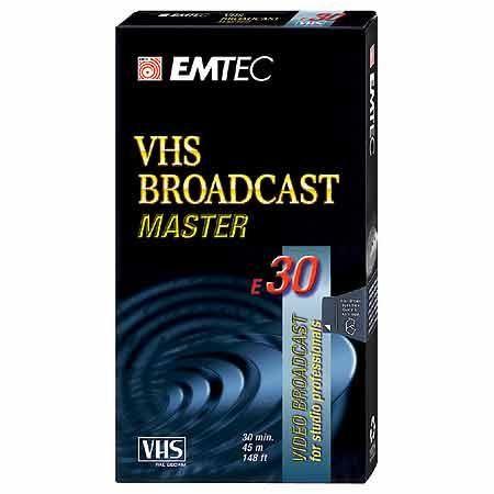 CASSETTE VHS 30 MINUTES