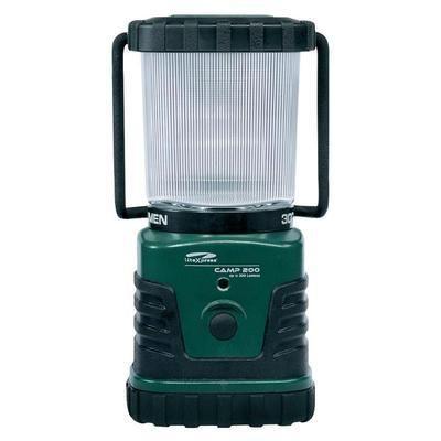 LANTERNE DE CAMPING LED PUISSANTE NICHIA LITEXPRESS CAMP 200 LXL902008 À PILES 862 G VERT, NOIR