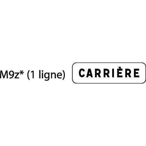 PANONCEAU POUR PANNEAUX DE SIGNALISATION DE TYPE A, TYPE AB, TYPE C ET CE - M9Z - TEXTE 1 LIGNE