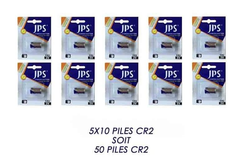 50 PILES CR2 - JPS
