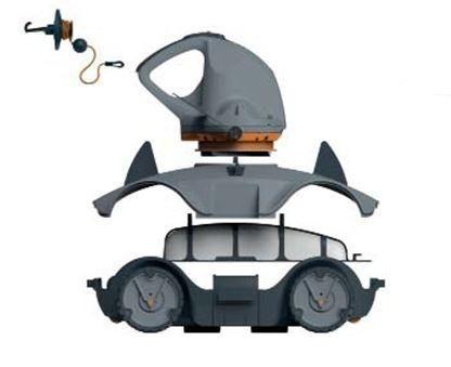 ROBOT ASPIRATEUR ELECTRIQUE VEKTRO AUTO KOKIDO - RC30CBX/SCP/EU