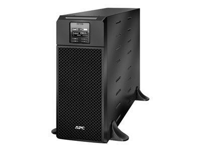APC SMART-UPS SRT 6000VA - ONDULEUR - CA 230 V - 6000 WATT - 6000 VA - ETHERNET 10/100, USB - CONNECTEURS DE SORTIE : 13 - NOIR