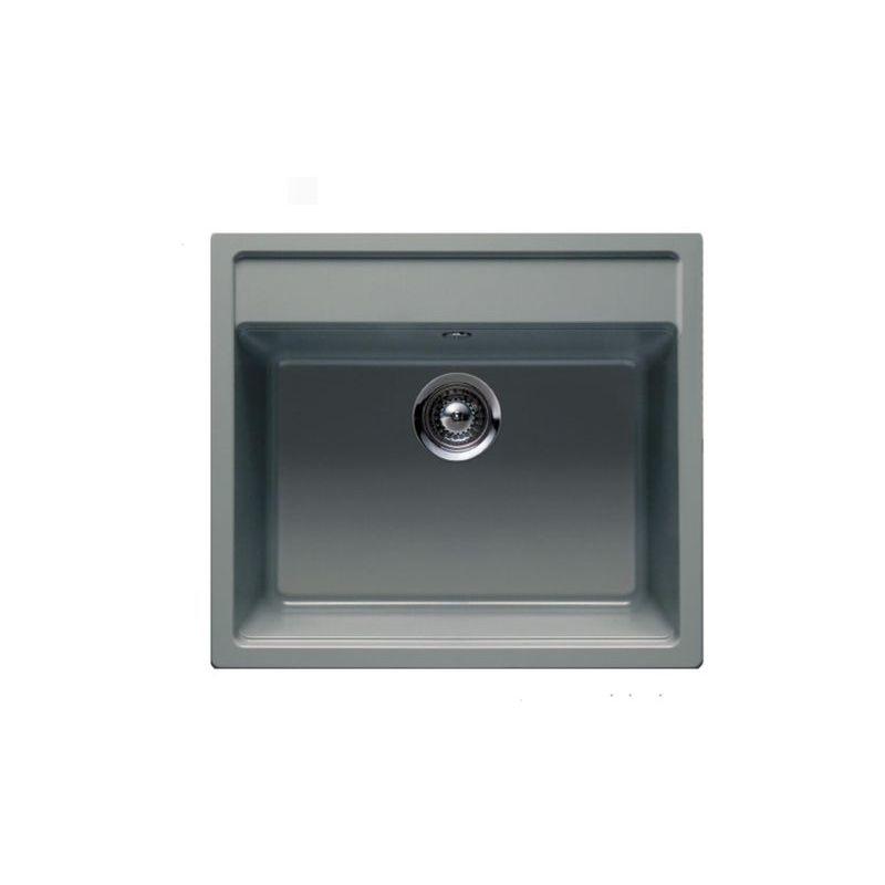 ÉVIER GRANIT GRIS SCHOCK NEMO 1 BAC 570X510