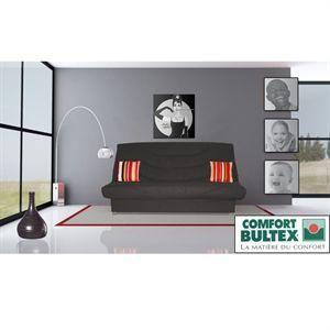 BULTEX KINSOW BANQUETTE CLIC-CLAC NOIR