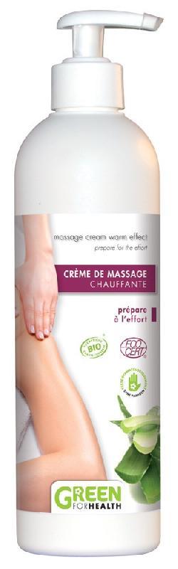 HUILE DE MASSAGE CHAUFFANTE GREEN FOR HEALTH