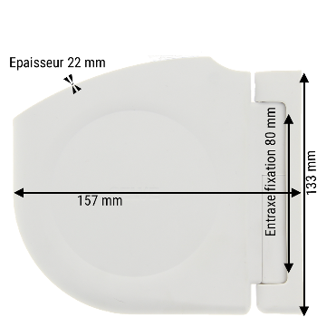 ENROULEUR DE SANGLE VOLET ROULANT SELVE SV085200