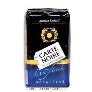 CARTE NOIRE PAQUET DE 250G DE CAFÉ MOULU DÉCAFÉINÉ INSTINCT 400910