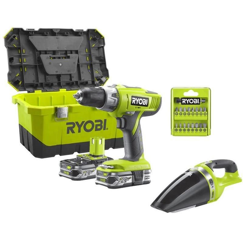 Ryobi Percussion Pack 225 Visseuse Oneplus Perceuse 18v Llcdi18 QCdthrsx